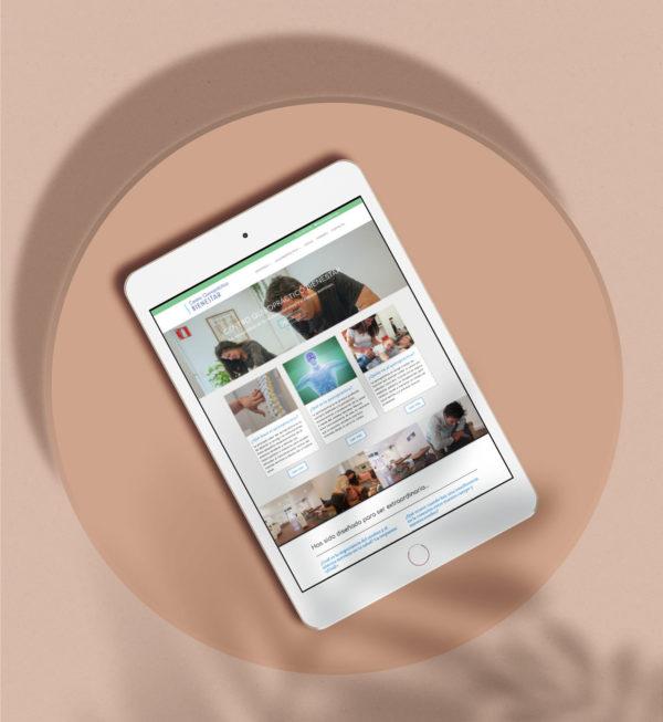 barcelona chiropractic website design
